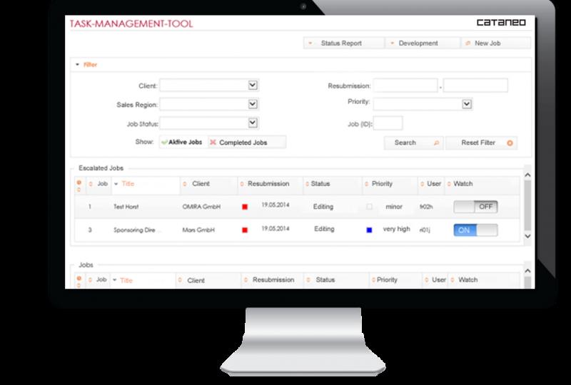 MYDAS Task Management
