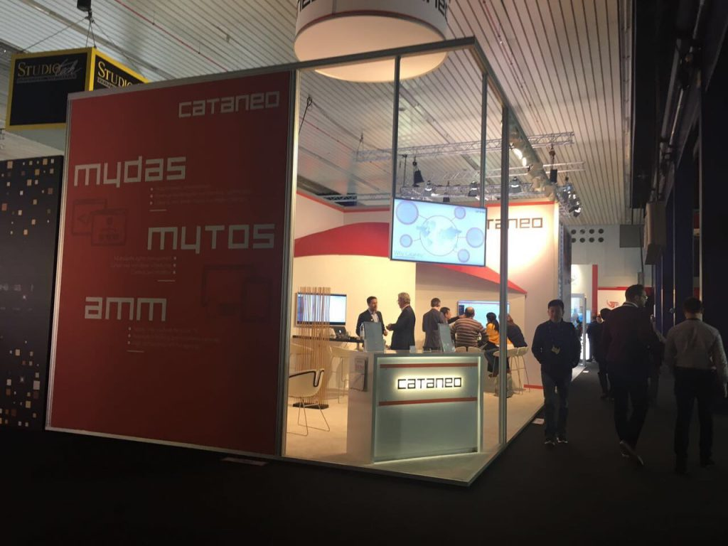 Cataneo booth at IBC 2017